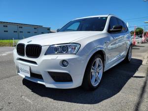 BMW X3 xDrive 20i Mスポーツパッケージ ハーフレザーシート シートヒーター 純正ナビ 地デジTV 電動リアゲート 19インチアルミ