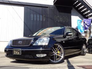 トヨタ セルシオ B仕様 eRバージョンSR黒革ナビTV20AW車高調