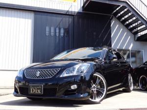 トヨタ クラウン 2.5アスリート ナビパケSR本革HDD19AW新品タイヤ