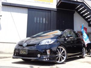 トヨタ プリウス S後期ヘッドHIDフォグLED新品黒革調Sカバー新品黒パネル
