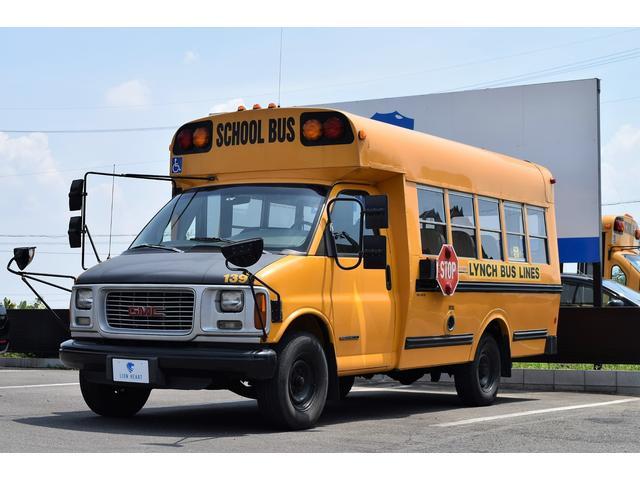 高年式のショートボディのスクールバスが入庫しました!