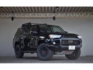 米国トヨタ 4ランナー  TRD プロ 4WD 2021年モデル サンルーフ FOX
