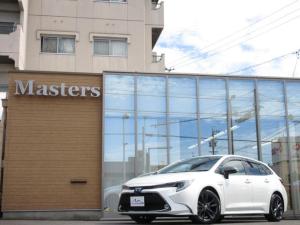 トヨタ カローラツーリング ハイブリッド ダブルバイビー ・1年間走行無制限保証・純正9インチナビ・バックカメラ・ヘッドアップディスプレイ・ホワイト合皮ハーフレザー・シートヒーター・ハンドルヒーター・クリアランスソナー・ETC2.0・ラゲッジトレイ・禁煙車