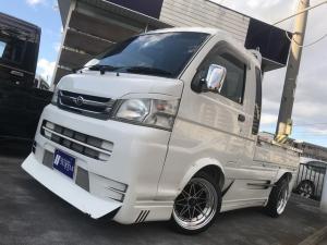 ダイハツ ハイゼットトラック ジャンボ リミテッド 4WD 5速MT レザー調シートカバー