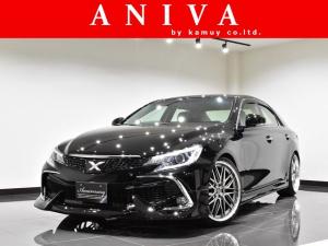 トヨタ マークX 250G 後期ナビTV新品車高調新品20AW新品エアロ黒内装