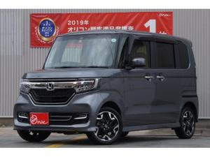 ホンダ N-BOXカスタム G・Lターボホンダセンシング/4WD/衝突軽減/8インチナビ