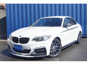 BMW 2シリーズ M235iクーペ MパフォーマンスED 30台限定車 6MT ワンオーナー HDDナビ DVD再生 衝突回避 被害軽減ブレーキ HID ETC パワーシート 専用19インチライトアロイホイール カーボンパーツ