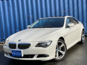 BMW 6シリーズ 650i 最終モデル・CIC純正ナビ・地デジ・Bカメラ・スポーツレザーシート・サンルーフ・パドルシフト・コンフォートアクセス・19AW・HID・ETC