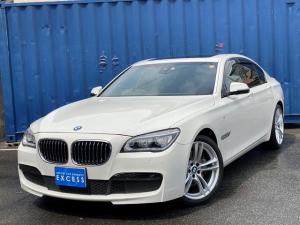 BMW 7シリーズ 740i MスポーツPKG・純正ナビ・地デジ・Bカメラ・ブラックレザー・サンルーフ・パドルシフト・LEDヘッド・インテリジェントセーフティ・ヘッドアップディスプレイ・20AW・コンフォートアクセス・ETC