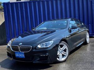 BMW 6シリーズ 640iグランクーペ Mスポーツ・ワンオーナー・純正ナビ・地デジ・Bカメラ・ブラックレザー・サンルーフ・パドルシフト・LEDヘッドライト・インテリジェントセーフティ・ETC・コンフォートアクセス