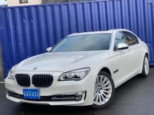 BMW 7シリーズ 750Li 後期モデル・ロングボディ・純正ナビ・地デジ・Bカメラ・TVキャンセラー・ブラックレザー・サンルーフ・インテリジェントセーフティ・LEDヘッドライト・ソフトクローズドア・ETC