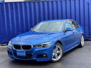 BMW 3シリーズ 340i Mスポーツ 後期モデル・左ハンドル・HDDナビ・地デジ・Bカメラ・ブラックレザー・ドライビングアシスト・パドルシフト・LEDヘッドライト・ETC・ドラレコ・コンフォートアクセス