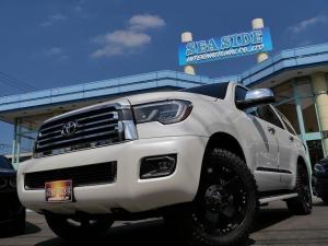 米国トヨタ セコイア プラチナム 4WD 新車 KMCロックスター 20Inch AW LEDライト TSS
