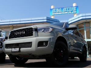 米国トヨタ セコイア TRD PRO LUNAR ROCK 2021Y 新車
