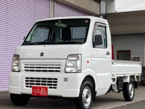 スズキ キャリイトラック KCエアコン・パワステ 4WD 5速マニュアル LEDライト 三方開 純正ラジオ 軽トラック