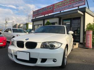 BMW 1シリーズ 120i Mスポーツパッケージ 社外ナビETC・パワーシート