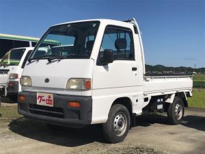 スバル サンバートラック  4WD 5速マニュアル 軽トラック 車検3年7月
