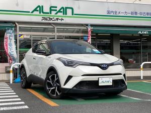 トヨタ C-HR S シーケンシャルウィンカー スマートキー 左右独立エアコン フルエアロ Bluetooth クルーズコントロール アルミホイール
