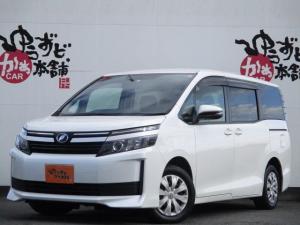 トヨタ ヴォクシー X ALPINE後席モニター Bluetooth機能付きフルセグナビ デュアルエアコン ダブルエアコン バックカメラ オートリトラミラー LEDオートライト ETC
