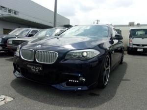 BMW 5シリーズ 550iツーリング Mスポーツパッケージ ツインターボ ACシュニッツァーエアロAW 1オーナー禁煙車 実走行35000キロ