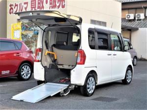 ダイハツ タント L 福祉車 車いす仕様 スローパー リヤシート付