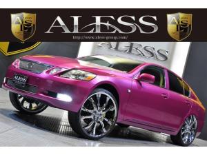 レクサス GS エアサス公認 LEXANI24インチ ドンクスタイルラグ仕様