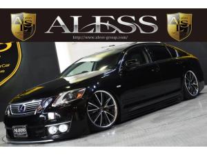 レクサス GS GS350 黒革サンルーフ フルエアロ クレンツェ20インチ