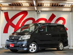 トヨタ アルファードV AS プラチナセレクションII 1オーナー禁煙車 両側パワースライド パワーバック 純正フルセグナビBカメラ ETC スマートドアロック