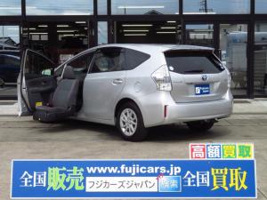 トヨタ プリウスアルファ 1.8Sウェルキャブ 助手席電動サイドリフトアップシート