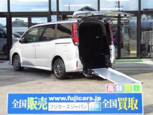 トヨタ ノア ウェルキャブ スロープII電動ウィンチ 電動固定装置