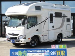 トヨタ カムロード バンテック ジル520 ソーラー エアコン トリプルサブ