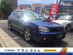 スバル レガシィツーリングワゴン GT-B E-tuneII 禁煙車 5MT 純ナビ Pシート