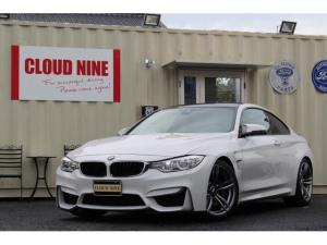 BMW M4 M4クーペ ディーラー記録簿H27.28.29.R1 アーキュレー四本出しマフラー H&Rダウンサス 6MT カーボンリアスポイラー カーボンエンブレム 左ハンドル 黒革シート 純正ナビ地デジBカメラ ETC