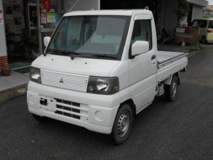 三菱 ミニキャブトラック VX-SE 4WD タイミングベルト交換済み オートマ車 エアコン/パワステ 車検整備付き