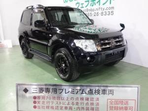 三菱 パジェロ ショート VR-I ブラックメッキグリル ブラック16AW
