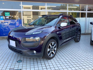 シトロエン C4 カクタス シャイン e-HDI92 Shine Edition 新車並行輸入車 国内ワンオーナ パノラマガラスルーフ ディーゼルモデル OPパープル内装