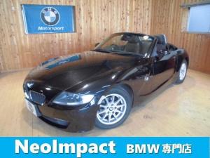 BMW Z4 ロードスター2.5i 電動オープン シートヒータ ETC バッテリ新品