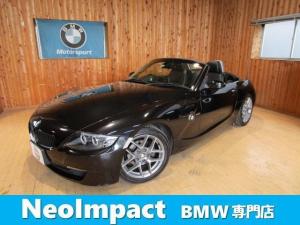 BMW Z4 ロードスター2.5i ブラックレザーシートヒーター ナビ ETC ドラレコ バッテリ新品