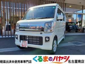 日産 NV100クリッパーリオ E ハイルーフ・届出済未使用車・安全ブレーキ付・ターボ車・オートエアコン・スライドドア