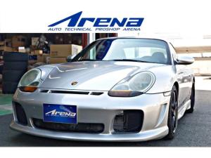 ポルシェ 911 カレラ GT3ルック 6速MT 左H レイズ製ホイール ワンオフマフラー