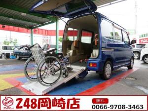 ダイハツ アトレーワゴン 車いすスロープ付 4WD 福祉車 電動ウインチ 1年保証