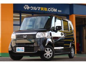 ホンダ N-BOX G 2オーナー/禁煙車/純正SDナビ/ワンセグTV/DVDビデオ/スマートキー