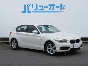 BMW 1シリーズ 118d スポーツ 純正ナビ 衝突軽減ブレーキ カメラ