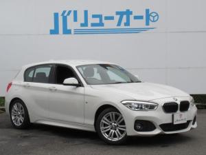 BMW 1シリーズ 118d Mスポーツ 衝突軽減ブレーキ・LEDヘッドライト・純正アルミホイール・クルーズコントロール・HDDナビ・CD・DVD再生・ETC