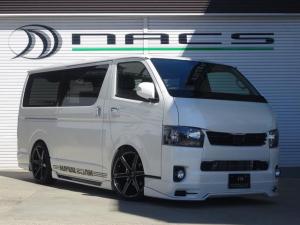 トヨタ ハイエースバン S-GLDプライム NACSエアロデモカープライムゴールド