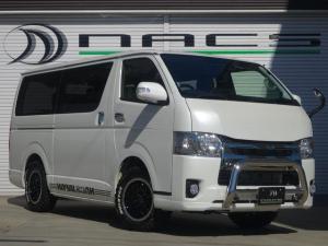 トヨタ ハイエースバン S-GLダークプライムNACSデモカー8人乗KIT
