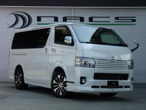 トヨタ ハイエースバン スーパーGL ダークプライムモデリスタフルエアロDADアルミ