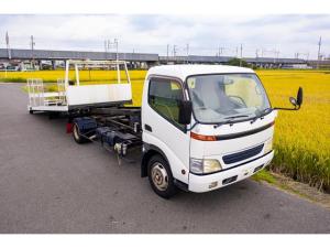 トヨタ ダイナトラック  積載車 6速MT 尾張車体 荷台5.7m ウインチ ウインチリモコン 固縛フック