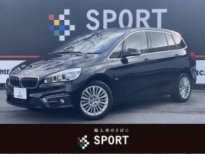 BMW 2シリーズ 218i Luxury インテリジェントセーフティー HDDナビBカメラ コンフォートアクセス レザー パワーシート シートヒーター 電動リアゲート DVD再生 ブルートゥース