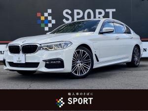 BMW 5シリーズ 530e Mスポーツ 1オーナー アクティブクルーズコントロール インテリジェントセーフティ 純正HDDナビ フルセグ 全周囲カメラ 黒革 全席シートヒーター シートメモリ パワーバックドア LEDヘッド ミラーインETC